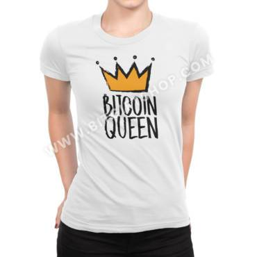 Bitcoin Queen T shirt