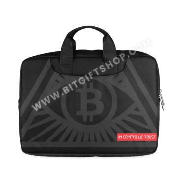 In crypto we trust Laptop Sleeves for Macbook Pro 15""